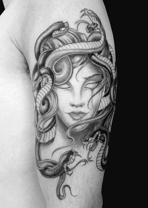 medusa tattoo 3