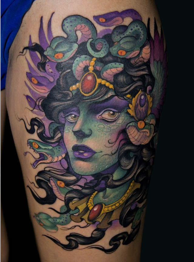 medusa tattoo 34