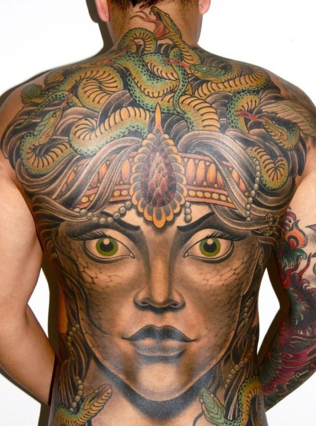 medusa tattoo 5