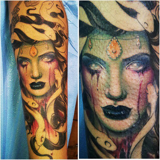 medusa tattoo 8