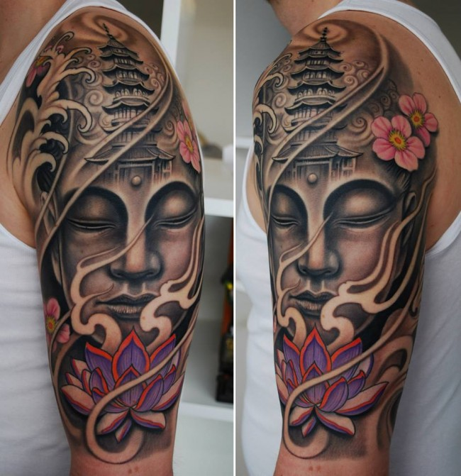 neo traditional tattoo (10)
