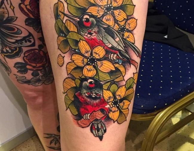 neo traditional tattoo (25)
