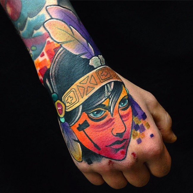 neo traditional tattoo (3)