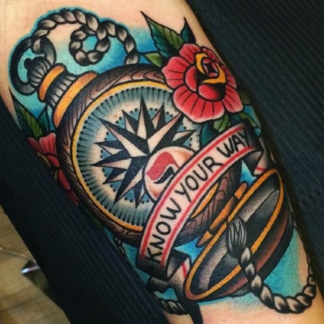 neo traditional tattoo (4)