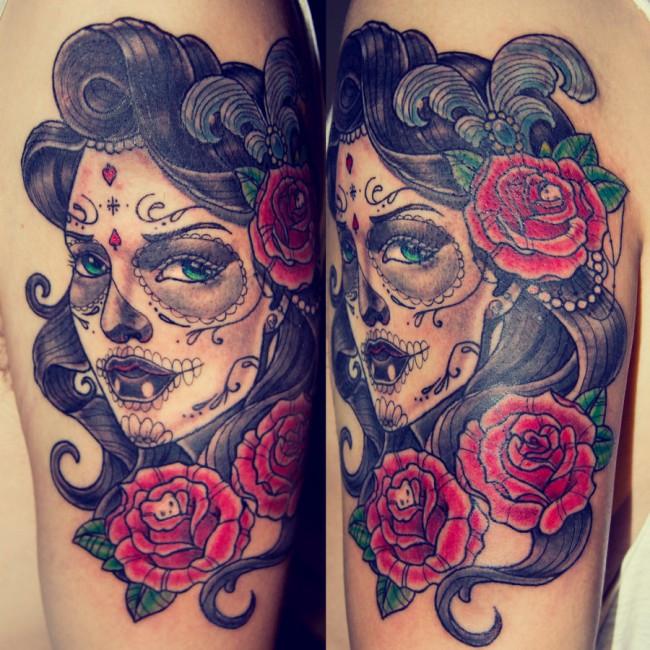 neo traditional tattoo (6)