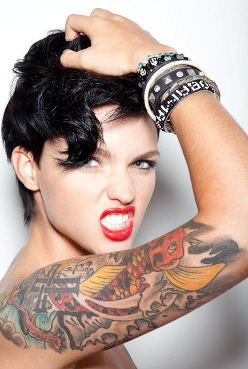 ruby rose tattoos (13)