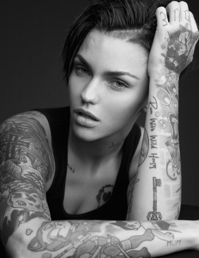 ruby rose tattoos (49)