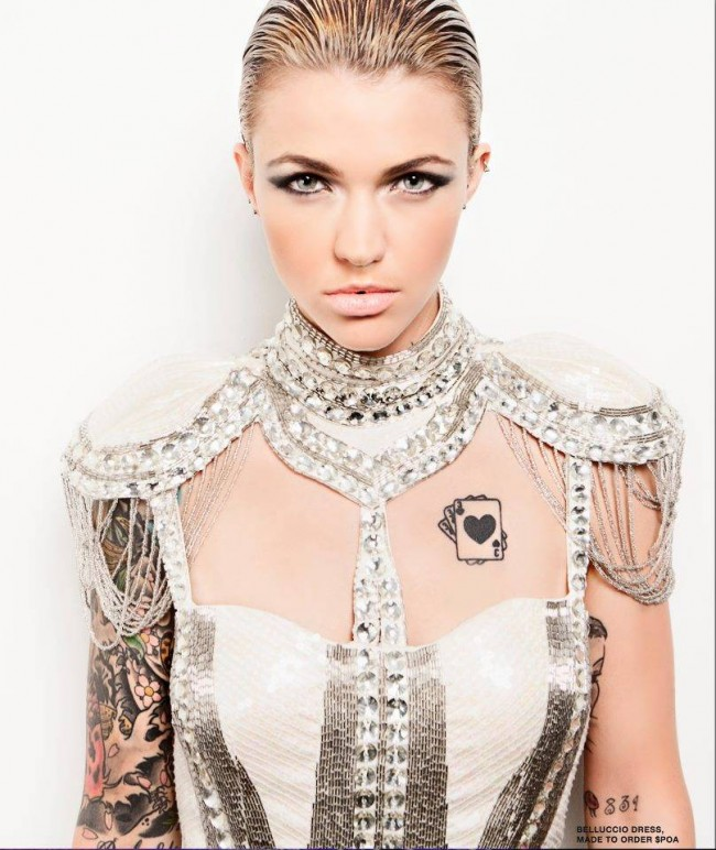 ruby rose tattoos (5)