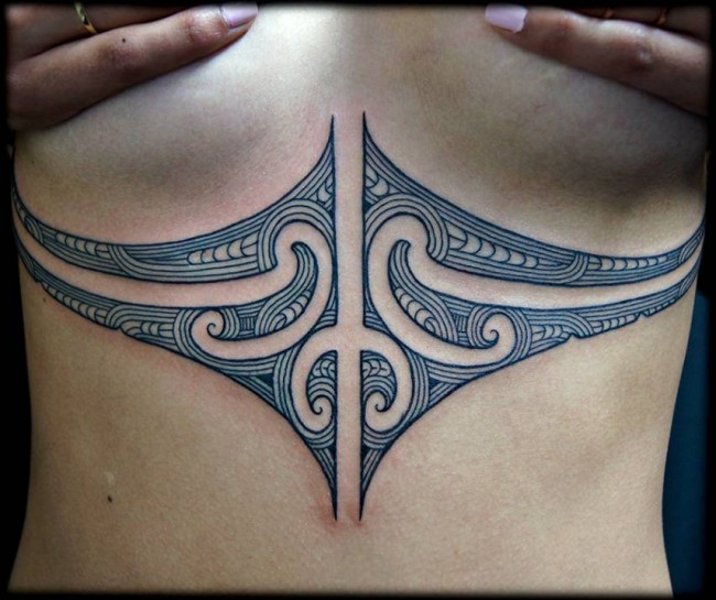 sternum tattoo (32)
