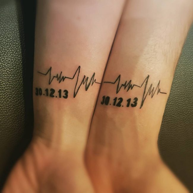 Matching Tattoo Ideas for Couples_