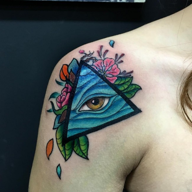 all seeing eye tattoo (48)