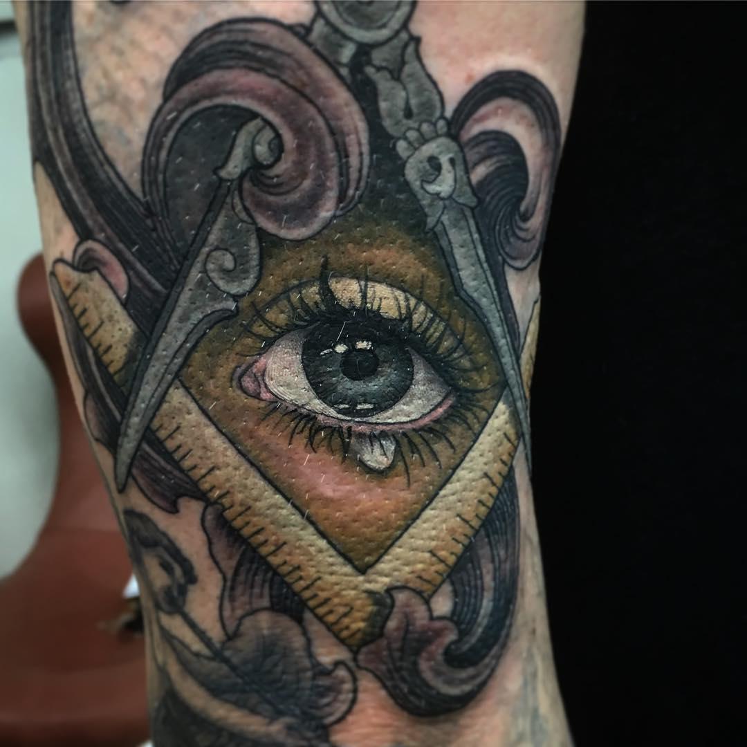 5a7adf2604e16 60+ Greatest All Seeing Eye Tattoo Ideas: A Mystery on Skin