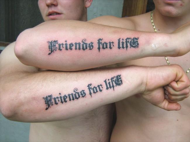 best friend tattoos (40)