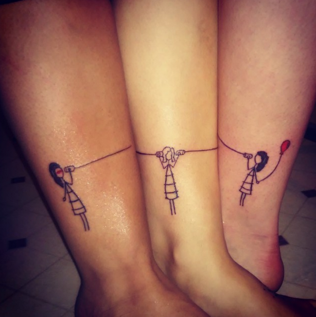 best friend tattoos (49)