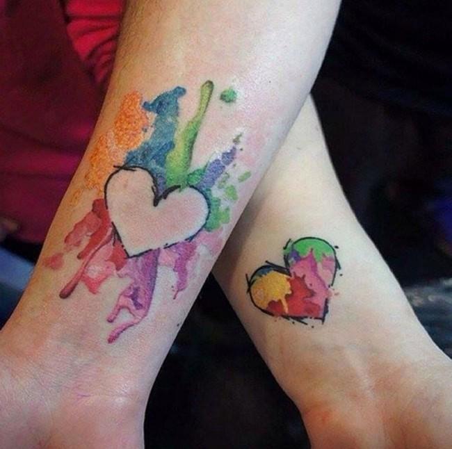 best friend tattoos (55)