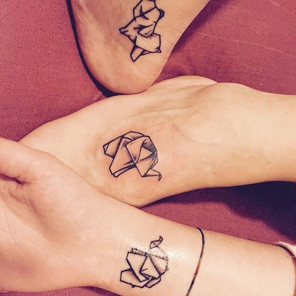 best friend tattoos (74)
