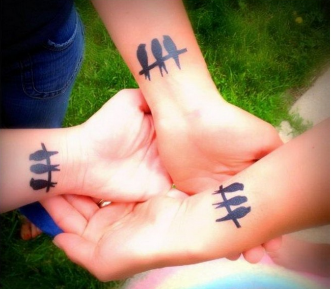 best friend tattoos (87)