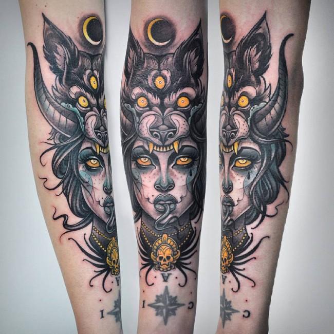 neo traditional tattoo (28)
