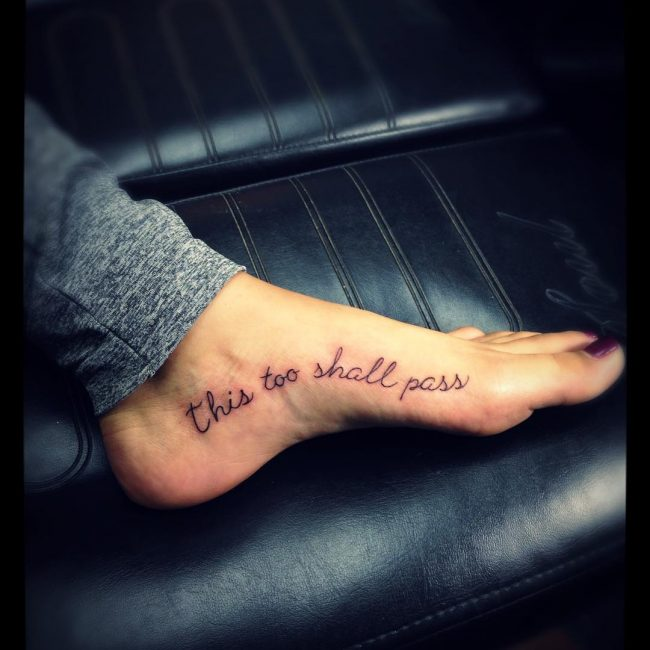This Too Shall Pass Tattoo_