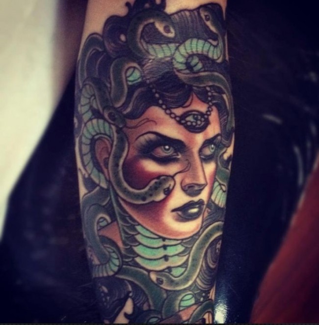 medusa tattoo (1)