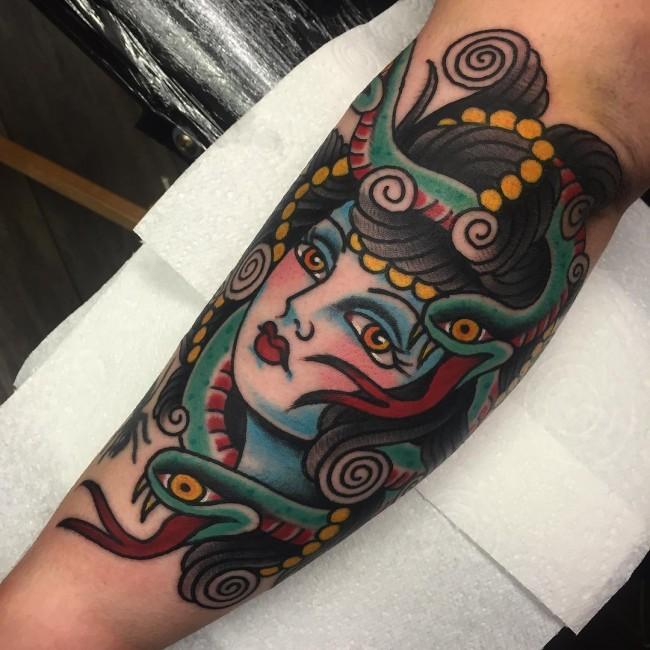 medusa tattoo (5)