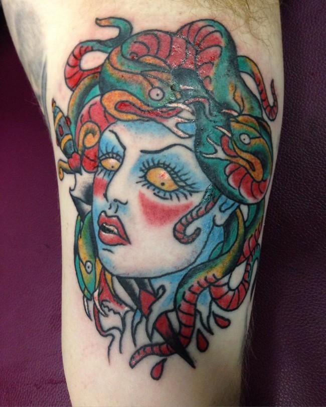 medusa tattoo (6)