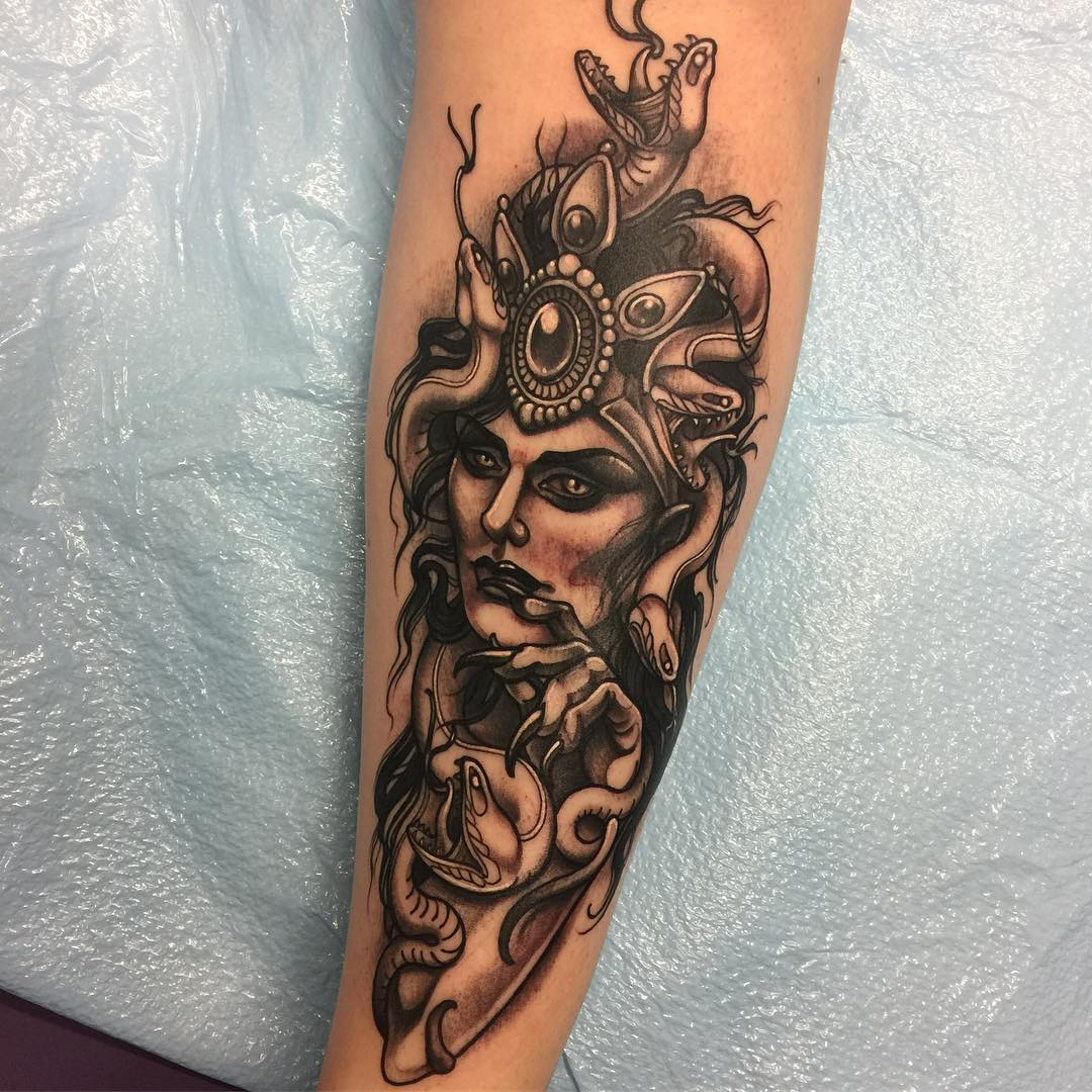 105 bewitching medusa tattoo designs meaning for Best soap to wash tattoo