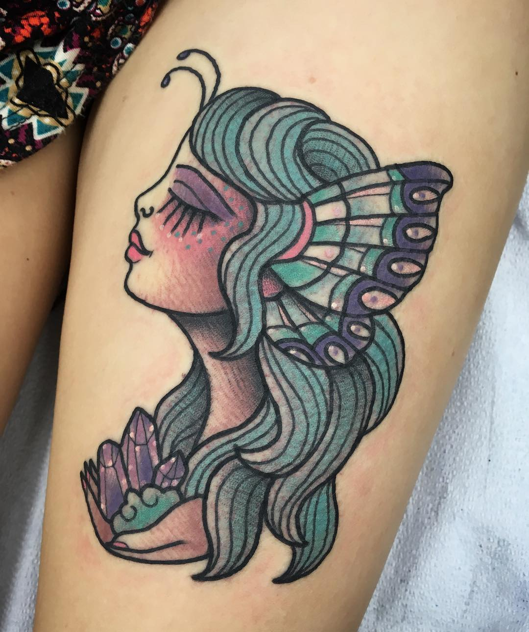 Fairy Tattoos Designs Ideas And Meaning: 75+ Charming Fairy Tattoos Designs