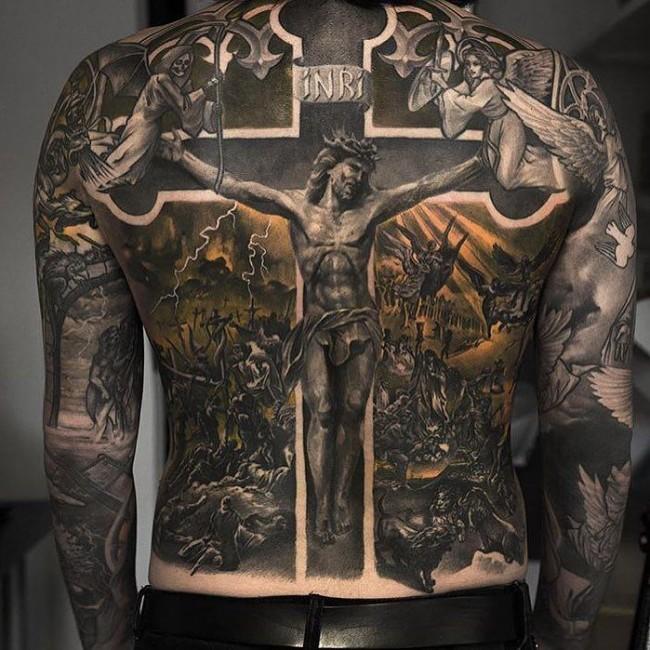 Full body tattoo19