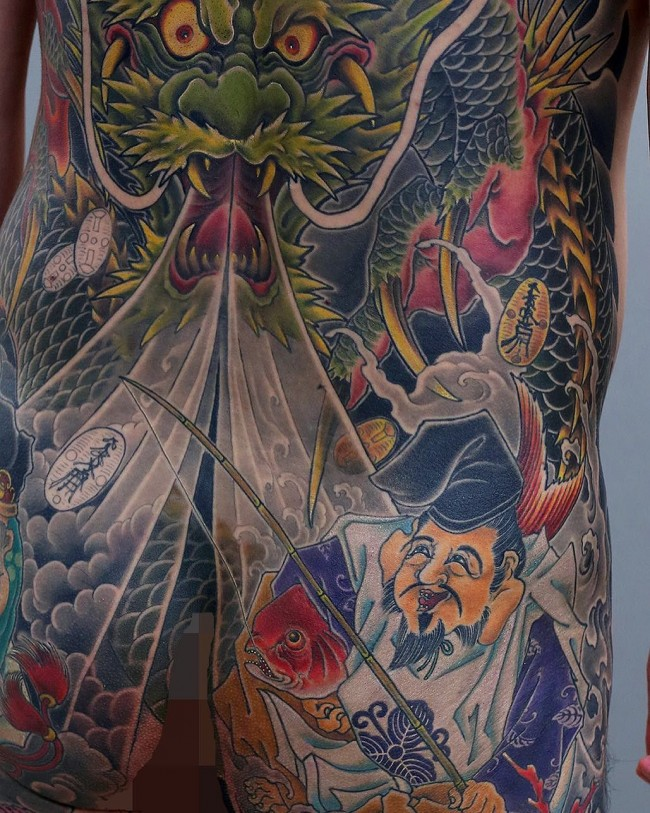 Full body tattoo22