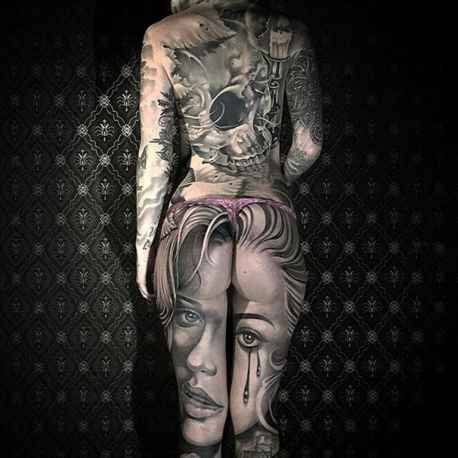 Full body tattoo39