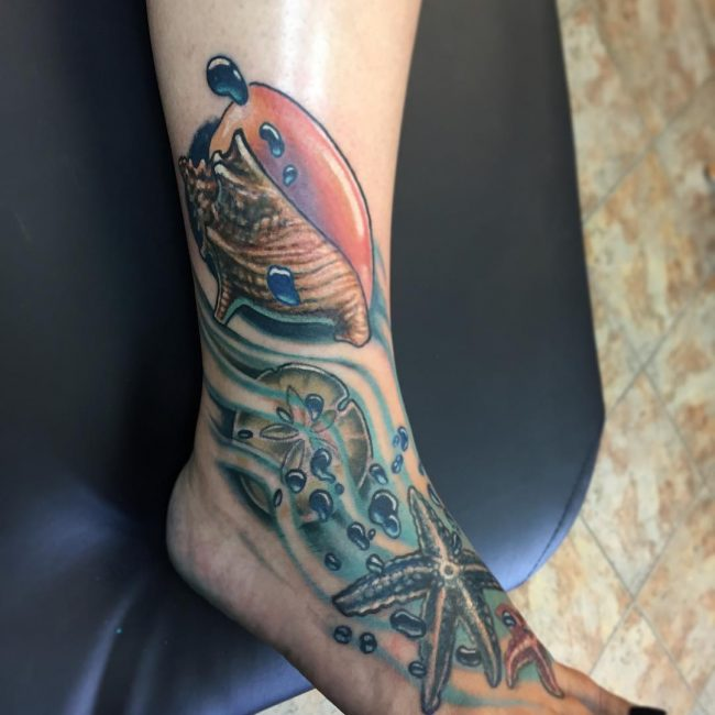 Starfish Tattoos_