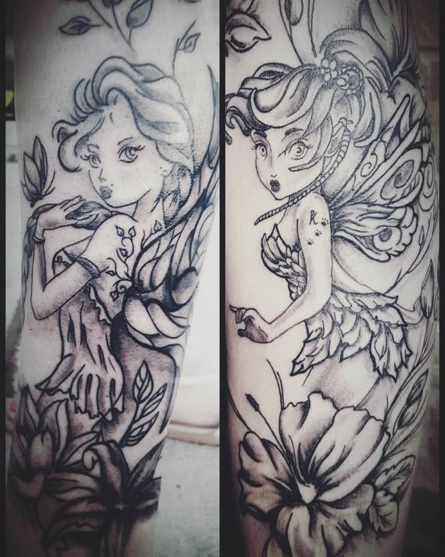 fairy tattoo 12