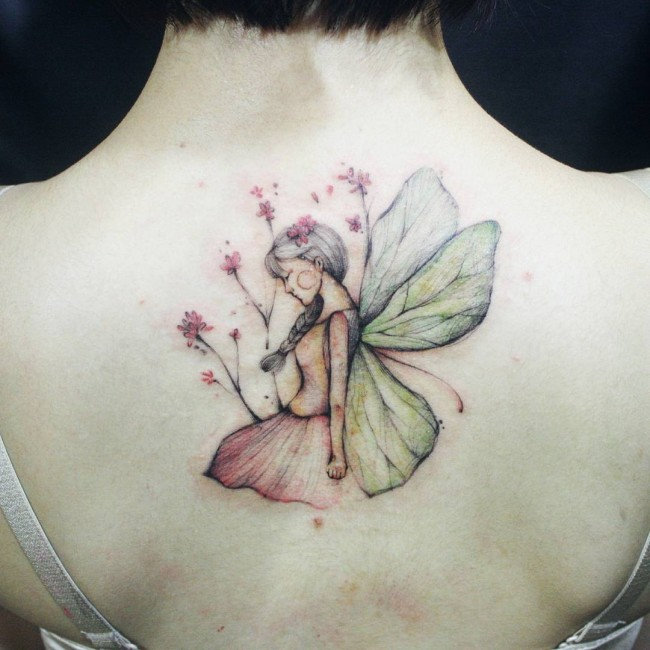 fairy tattoo 25