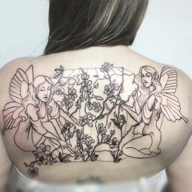 fairy tattoo 6