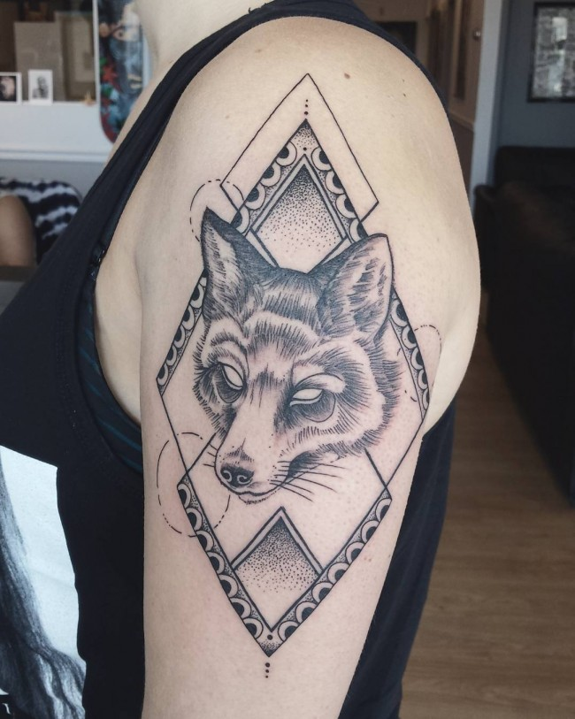 fox tattoo11