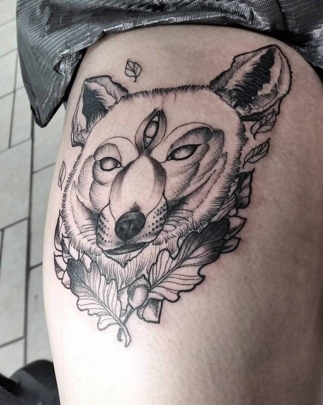 fox tattoo12