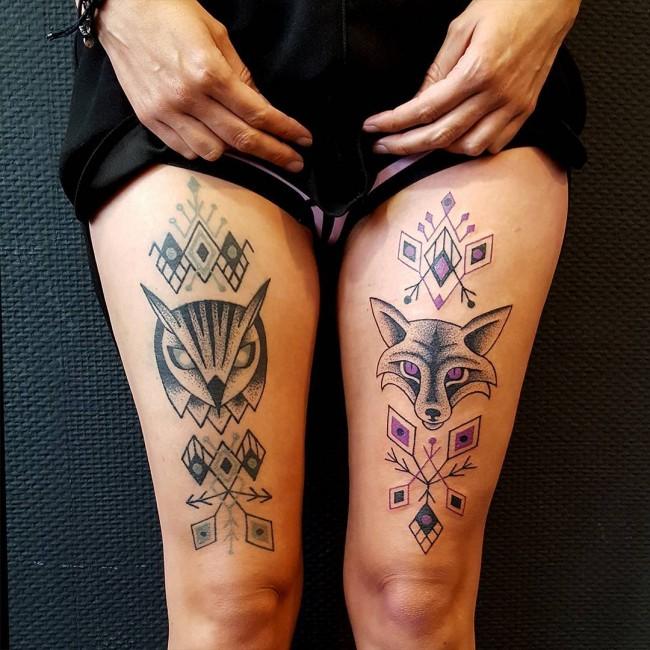 fox tattoo16