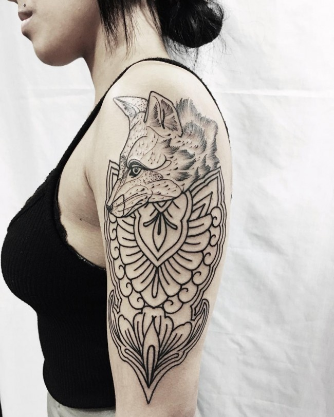 fox tattoo18