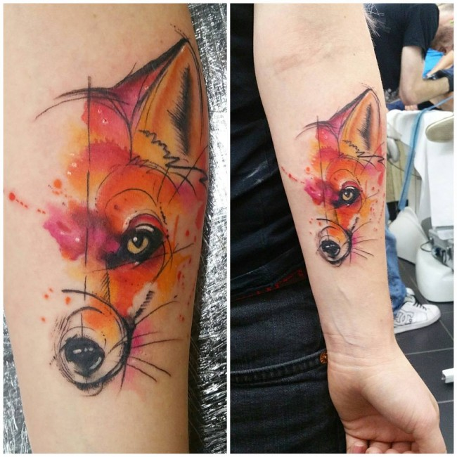 fox tattoo2