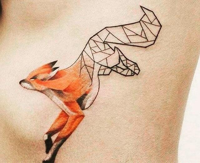 fox tattoo20