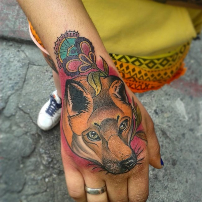 fox tattoo21