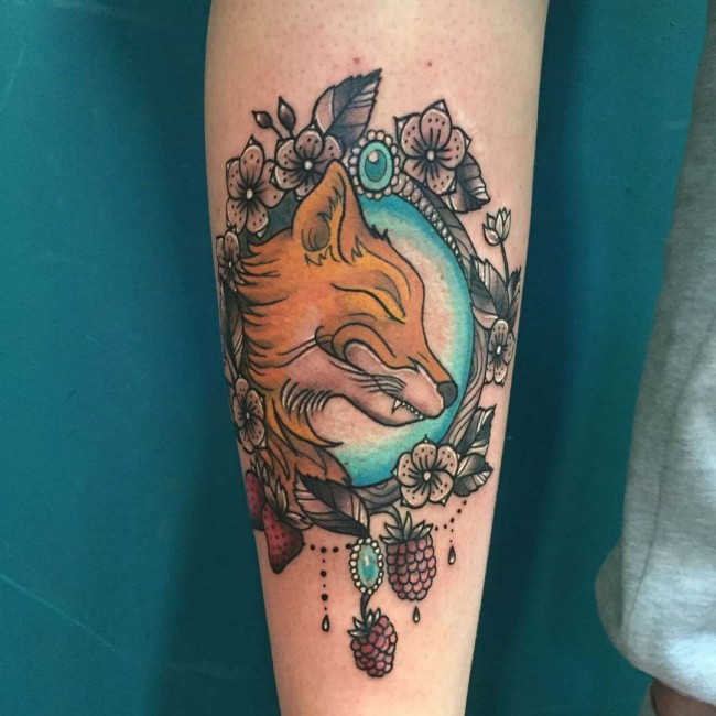 fox tattoo22