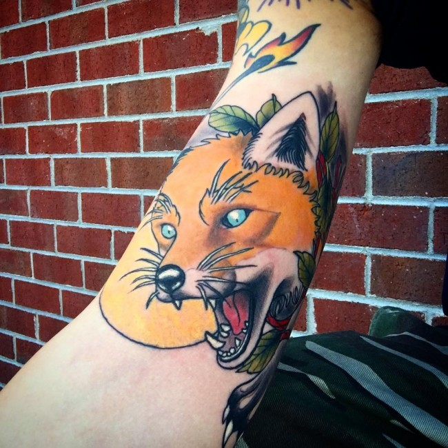 fox tattoo23