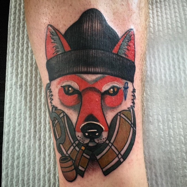fox tattoo24