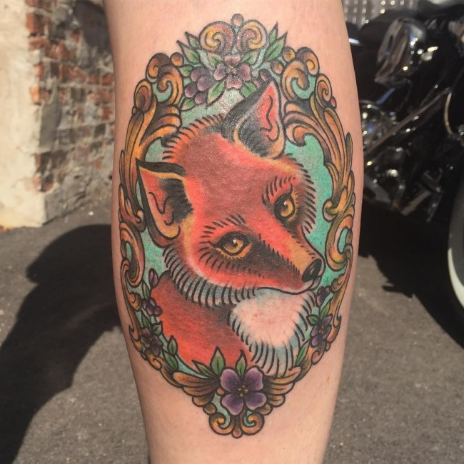 fox tattoo25