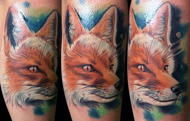 fox tattoo26