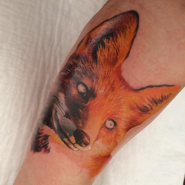fox tattoo27