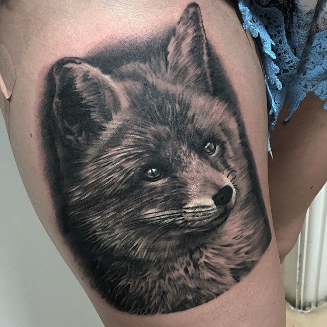 fox tattoo28