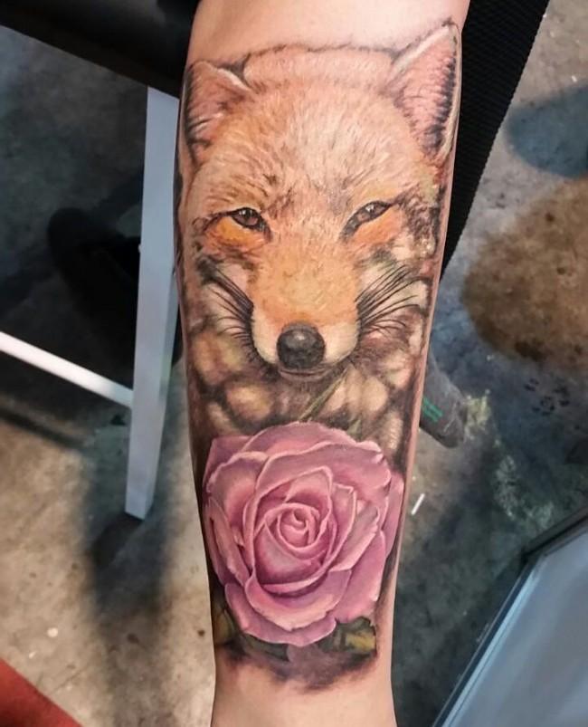fox tattoo29